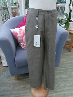 Varci Boys Italian smart trouser Age 8 New with tags RRP £35.00