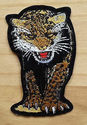 Leopard Embroidery Iron On Patch - Sew On Patch