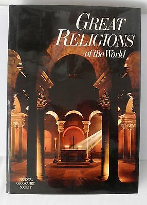 1971 Great Religions of the World From National Geographic Society~~Hardcover DJ