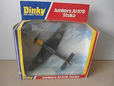 Dinky Toys no.721 Junkers JU87B Stuka Dive Bomber In Large Window Box , Scarce