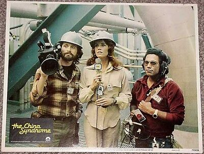The China Syndrome #3 Lobby Card-1979-Anchorwoman Vg