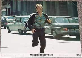 French Connection Ii Lobby Card #1-1975-Running-Rare Vg