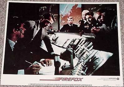 Firefox Lobby Card #8-1982-Government-Points Of Power Vg