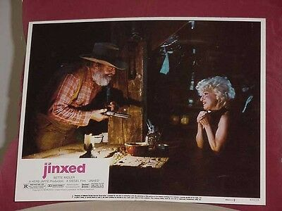 Jinxed-Lobby Card #2-Bette Midler-1982-United Artists Vg