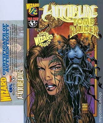 Witchblade Tomb Raider (1998) Wizard 1/2 #1B NM