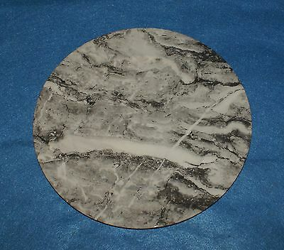 """Villeroy & Boch Gray Marble Service Plate Charger Chargers 12"""" in Diameter"""