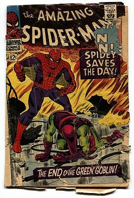 AMAZING SPIDER-MAN #40 1966-Death of the Green Goblin-comic book