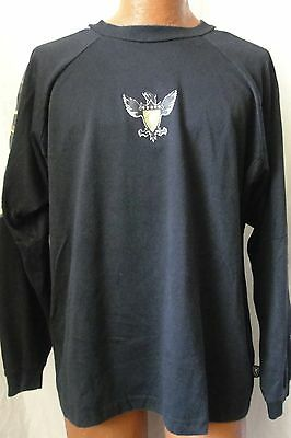 Flesh Gear Morotcycle Riding Jersey Shirt XXL Black with Cammo Trim Long Sleeve