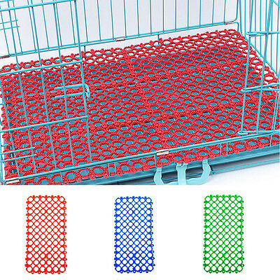 Mat for rabbit cage, comfortable for feet, chinchilla, guinea pig, bunny plastic