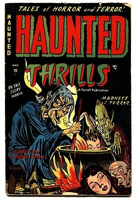 Haunted Thrills #9 1953- Precode Horror- Severed head cover