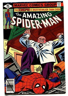 AMAZING SPIDER-MAN #197-comic book 1979-KINGPIN-MARVEL