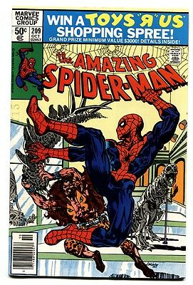 AMAZING SPIDER-MAN #209-comic book 1980-MARVEL
