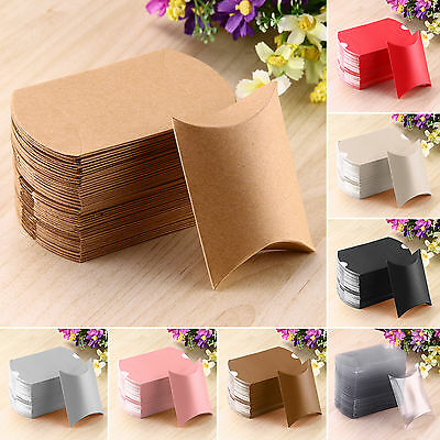 52 Pcs Cute Pillow Anti-Scratch Box Sweet Wedding Party Favour Gift Candy Boxes