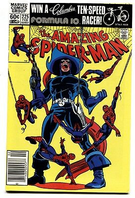 AMAZING SPIDER-MAN #225 comic book-1981-MARVEL-nm-