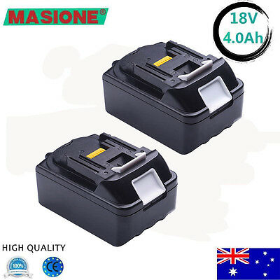 2 X New 18V 3.0Ah Lithium Ion Battery LXT For Makita BL1830 BL1815 Pack 18 Volt