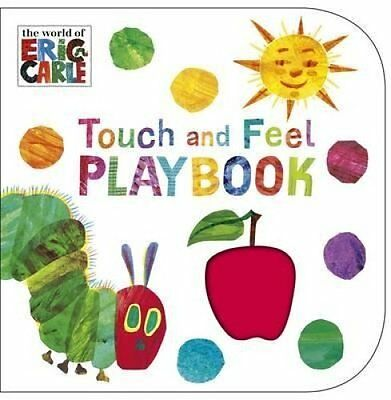 The Very Hungry Caterpillar: Touch and Feel Playbook by Eric Carle 9780241959565