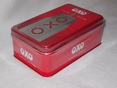 "Brand New Limited Edition ""oxo Towers"" Embossed Tin With 18 Cubes"