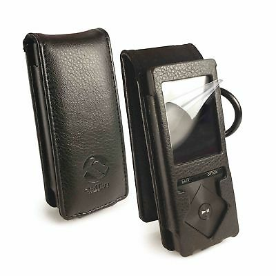 Tuff-Luv Faux Leather Case Cover for Sony Nwz-A15 A17 A20 A25 A27 Walkman Black