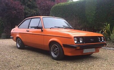 Ford Escort Mk 2 Rs2000 Yb Cosworth Fully Restored With Over £50K Of Receipts