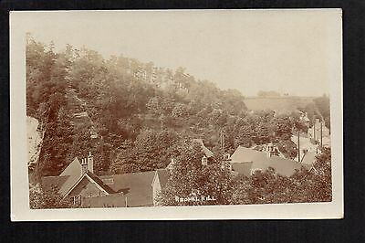 Rednall Hill - real photographic postcard