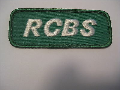 Vintage Un Sewn Nos Rcbs Hunting / Reloading / Shooting Cloth Patch
