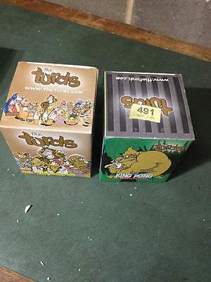 The Turds - Smell Raiser & King Pong with Log Books - Boxed    #491