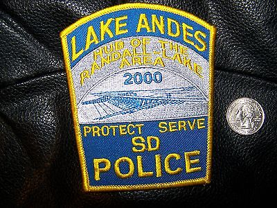 Lake Andes, Sd Police Patch