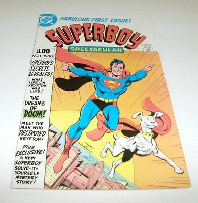 Superboy #1 Original Owner Collection $5 High Grade Comic Book Hero Krypto Dog