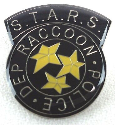 RESIDENT EVIL Raccoon City Police S.T.A.R.S. - Movie & Video Game Enamel Pin
