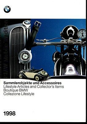 Bmw Mobile Tradition <Sammlerobjekte Und Accessoires > Katalog 1998 (Brochure)