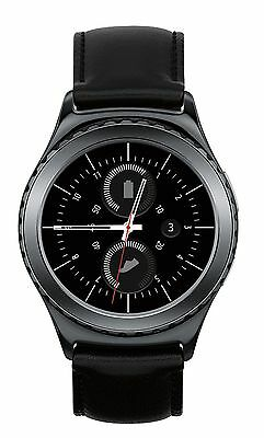 Samsung Gear S2 Classic Unlocked Watch Stainless Steel Black Smartwatch GSM WIFI