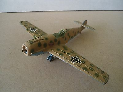 Dinky Toys no.726 MESSERSCHMITT Bf109E WW2 German Aircraft For Restoration