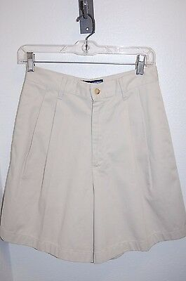 Vintage High Waist Khaki RALPH LAUREN POLO SPORT Shorts Sz 8 - See Measurements