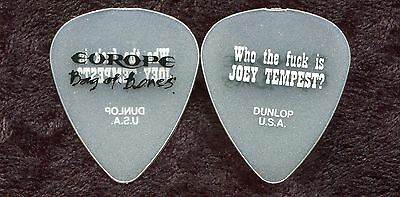 EUROPE 2012 Bones Tour Guitar Pick!!! JOEY TEMPEST custom concert stage Pick