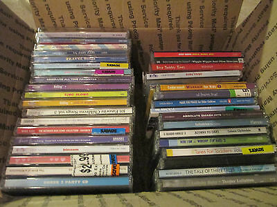 40 Cd Lot -  Children / Baby Music Cds ( good selection )