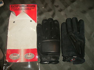 New Hatch Reactor LR25 Reactor Rappelling Large Leather Gloves FREE SHIPPING