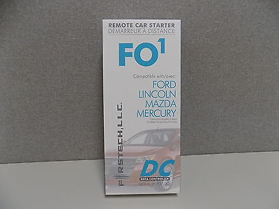 NEW Compustar First Tech Plug & Play Remote Start FT-FO1-DC