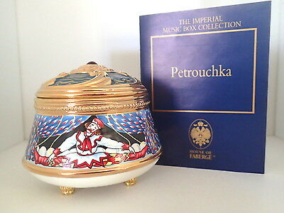 House of Faberge The Imperial Music Box Collection Petrouchka  limited edition
