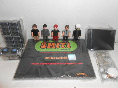 Smiti Limp Bizkit 5 Figure Rock Band Set Fred Durst Drum Set Riser Speakers