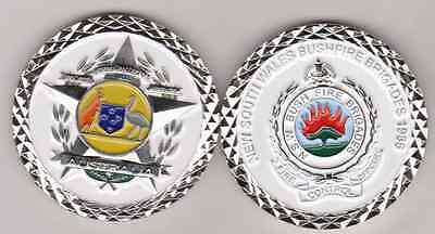 Police Insignia Collectors, NSW Bushfire Control Officer badge coin
