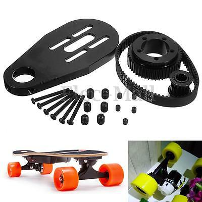 DIY Electric Skateboard Parts Kit Pulleys And Motor Mount For 72/70MM Wheels