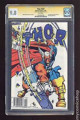 Thor (1962-1996 1st Series Journey Into Mystery) #337 CGC 9.8 SS (1270531002)