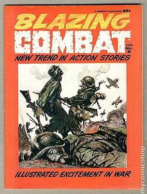 Blazing Combat (1965 Warren Magazine) #2 VG 4.0