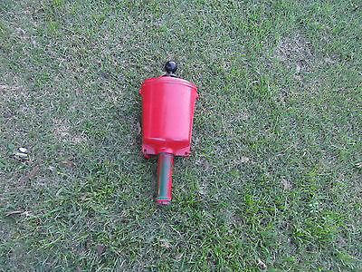 Lesco Painted red - USED  Single Golf Ball Washer
