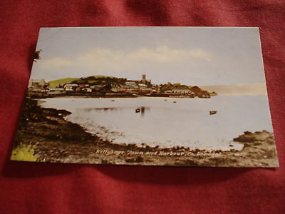VINTAGE IRELAND: DONEGAL Killybegs harbour panorama colour tint 1963