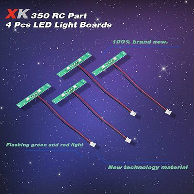 4pcs XK X350-010 LED Light Boards for XK X350 RC Quadcopter