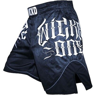 Wicked One MMA Fightshorts, Strike, blau, Hosen, Muay Thai, Short, Kickboxen