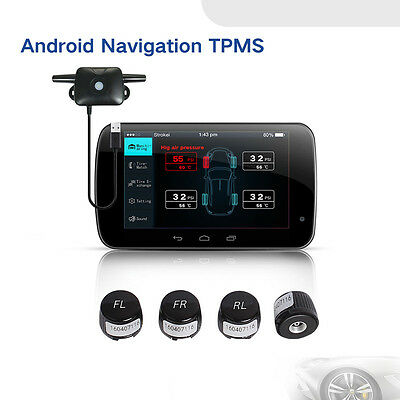 TPMS Tire Pressure Monitoring System Exterior Sensor For All Android GPS Car Dvd