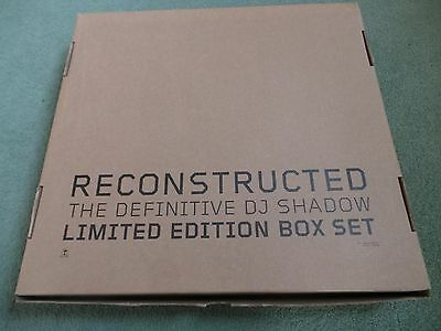 DJ SHADOW - Reconstructed(UK 2012 CD & VINYL BOX SET / SIGNED / UNPLAYED!!!)