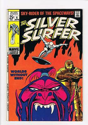 Silver Surfer # 6  Worlds Without End ! grade 7.5 scarce hot book !!